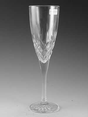 """Royal DOULTON Crystal - EARLSWOOD Cut - Champagne Glass / Glasses - 8 1/4"""""""