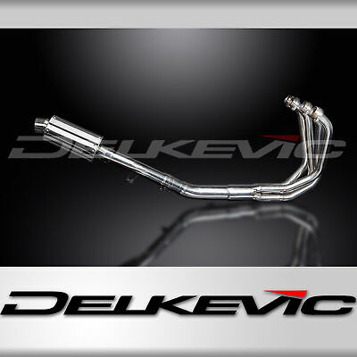 SUZUKI GSX1250FA 2010-16 FULL EXHAUST SYSTEM 225mm STAINLESS OVAL SILENCER