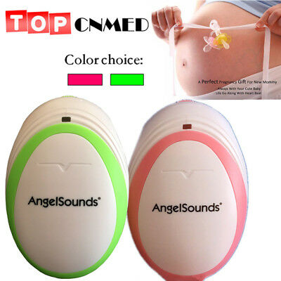 AngelSounds Pocket Home fetal Doppler prenatal doppler Baby heart beat monitor