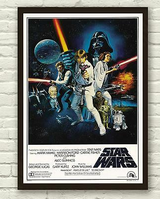Vintage Star Wars Skywalker Movie Film Poster Print Picture A3 A4