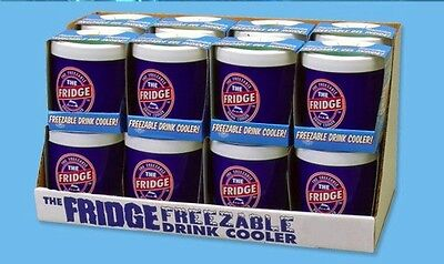 The Fridge Freezable Drink Beverage soda Cooler can cold 16 oz Koozie by Lifoam