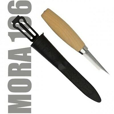 MORA Wood Carving Knife 106 laminated steel Sweden made