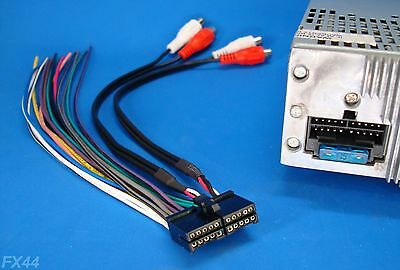new 16 pin wire harness for jensen models • 11 25 picclick jensen 20 pin radio wire harness stereo power plug cd dvd player unit back clip