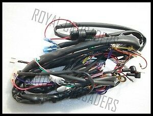 Remarkable Royal Enfield New Complete Wiring Harness 12V Code 1841 15 59 Wiring 101 Tzicihahutechinfo