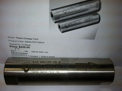 """NEW Therm-Omega-Tech 3/4"""" Freeze Protection Valve 115-502100-035"""