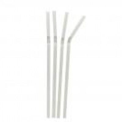 "Clear Bendy Straws 8""  ***choose quantity***"