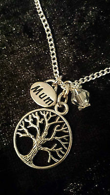 TREE OF LIFE silver plated Jewellery Pendant Necklace Gift CHRISTMAS GIFT BOXED