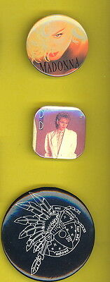 Madonna 1990 usa badge button pinback H
