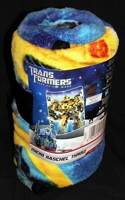 Transformers 3 The Ruins Micro Raschel Plush Throw