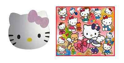 Hello Kitty Girls Bedroom Wall Mirror Approx 30 x 35 cm SAFETY ACRYLIC GLASS **