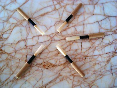 PRESTINI OBOE REED BLANKS - SYNTHETIC CORK - LOT of 10  units