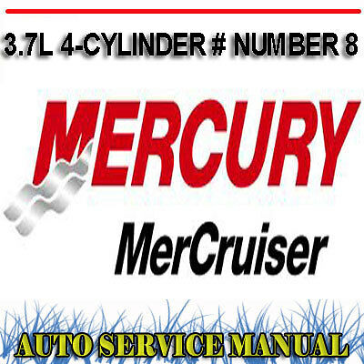 mercury mercruiser 25 4 3l v6 service repair workshop. Black Bedroom Furniture Sets. Home Design Ideas