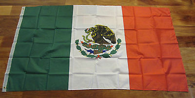 2  New Mexican Flags 3'x5' Flag Of Mexico Indoor Outdoor Mexican Banner 3 By 5