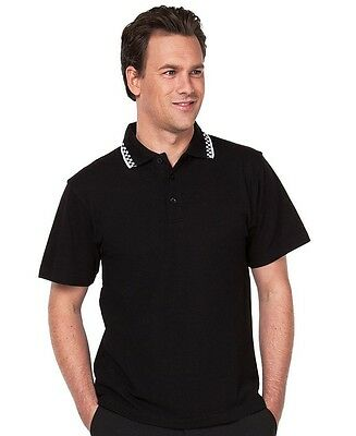 Mens Chef Polo Size S - 4XL Restaurant Bar Hotels Clubs Uniform Prep to Service