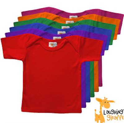 Blank Soft Jersey T Shirt Blanks 100% Cotton Many Colors Lap Tee Takes Transfers