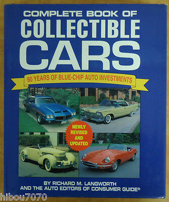 Complete Book Of Collectible Cars : 60 Years Of Blue-Chip Auto Investments