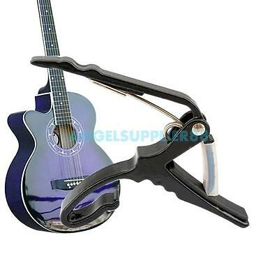 A# Classic Guitar Quick Change Clamp Key Black Guitar Capo For Acoustic Electric