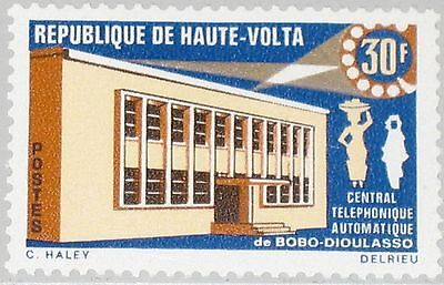 UPPER VOLTA OBERVOLTA 1968 245 190 Automatic Telephone Office Bobo Dioulasso MNH