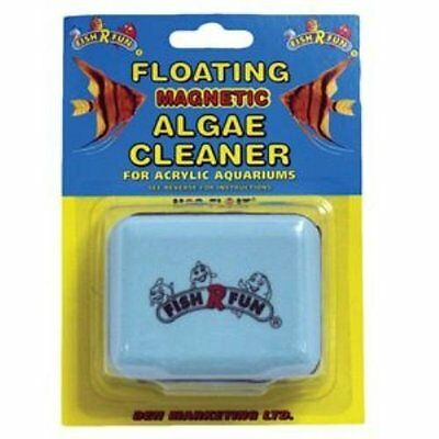 Mag-Float Magnetic Floating Algae Cleaner  For Acrylic Tanks Magfloat Magnet