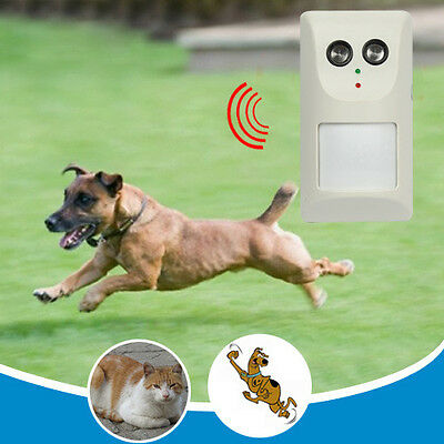 Electric Infrared Ultrasonic Aggressive Dogs Cats Deterrent Tool Repeller Repel