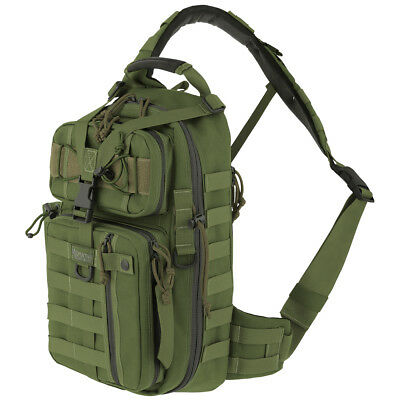 Maxpedition Sitka Gearslinger Hydration Sling Pack Tactical CCW MOLLE Bag Green