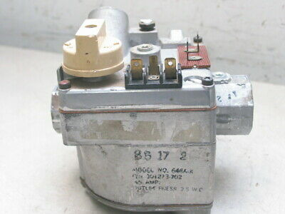 Carrier Bryant Payne Gas Valve 301273-702 Robertshaw 646A-X