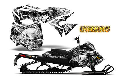 SKI-DOO REV XM SUMMIT SNOWMOBILE SLED GRAPHICS KIT WRAP CREATORX DECAL RCS