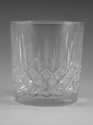 "EDINBURGH Crystal - APPIN Cut - Whisky Tumbler Glass / Glasses - 3"" (2nd)"