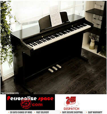 MELODIC 100 Rhythm 88 Standard Digital Piano- Black White