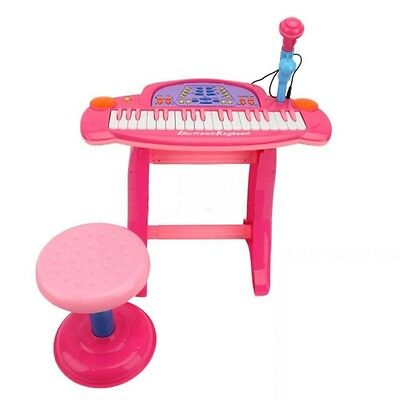 Kids Childrens 36 Key Electronic Keyboard Piano Organ w/ Mic Record Musical Toy