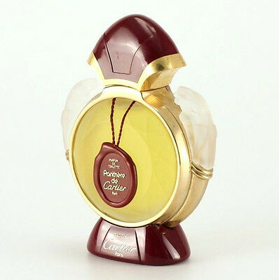 Panthere de Cartier Perfume Art Glass Large Display Bottle, sealed