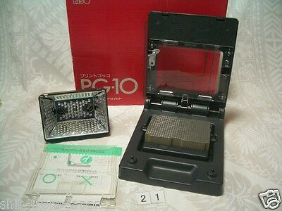 RISO Print Gocco PG-10 Used Screen print B6 Postcard screen printer machine #21