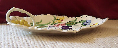 Vintage Blue Ridge / Southern Potteries Easter Parade Celery Dish-Sweet Flowers