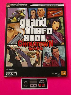 Grand Theft Auto Chinatown Wars GTA Official Brady Games Strategy Guide PSP Book