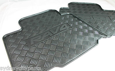 Toyota Rav4 Rubber Floor Mats Rear Nov 2005 - Dec 2012 New Genuine Accessory