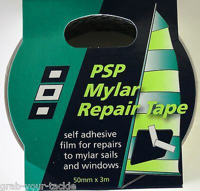Windsurfing Mylar Repair Tape 50mm x 3m PSP Quality Kite/Sail/Tent repair tape