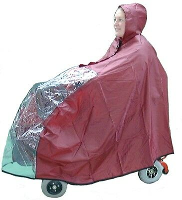 Mobility Mini Scooter Waterproof Rain Cover - Disability Scooter Aid