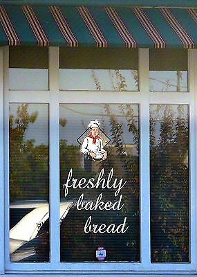 PERSONALISED, Business Shop Advertising Sign Frosted Etched Window Decal/Sticker
