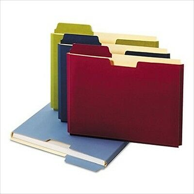 Globe Weis Expanding File Folder Pocket Letter 11 Point Stock Assorted 10 Ct