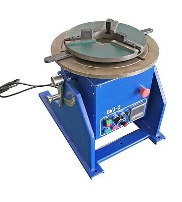 100Kg WDBWJ welding automatic positioner for mig /tig machine with Jaw chuck