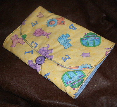 Handmade Travel Diaper Changing Pad Clutch w/pockets for diapers and wipes!.#2