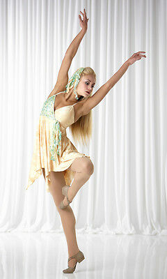 Last One! Water Lillies Lyrical Ballet Dance Costume Adult Large - Reduced