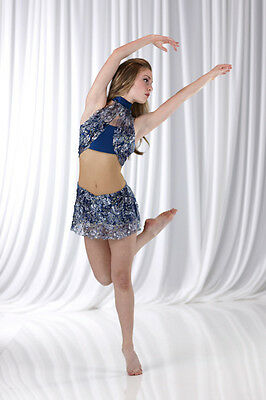 INNOCENCE Sequin Lace Ballet Lyrical Dance Costume Adult XL - Only 2 Left!