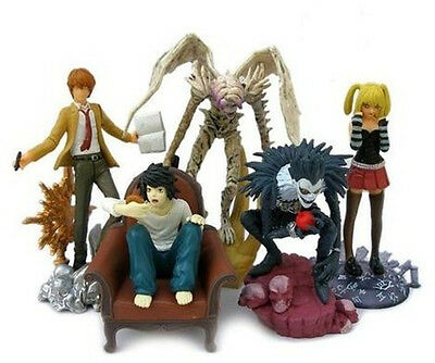 Death Note Anime figure 5pcs set 3-4""