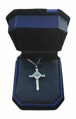 The Lord's Prayer Sterling Silver CHILDS KIDS Cross Necklace As Seen On TV Girls