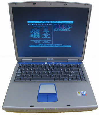 "Dell Inspiron 1100 Laptop for Parts or Rebuild - Good 15"" LCD - 2.2GHz Pentium 4"