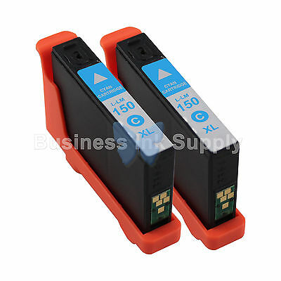 20 BLACK 150XL New High Yield Compatible Ink Cartridge for LEXMARK 150XL 14N1614
