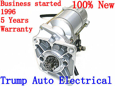 Brand New Starter Motor for Land Rover Discovery TD5 10PO 16PO 2.5L Diesel 99-04