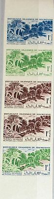 MAURITANIA MAURETANIEN 1965 252 191 PROOFS Palms at Adrar Tourism Tourismus MNH