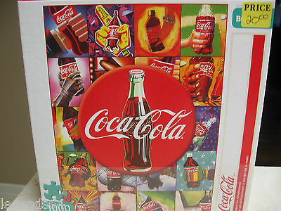 Coca Cola  1000 Piece Puzzle - Reach For Refreshment  -  Nib